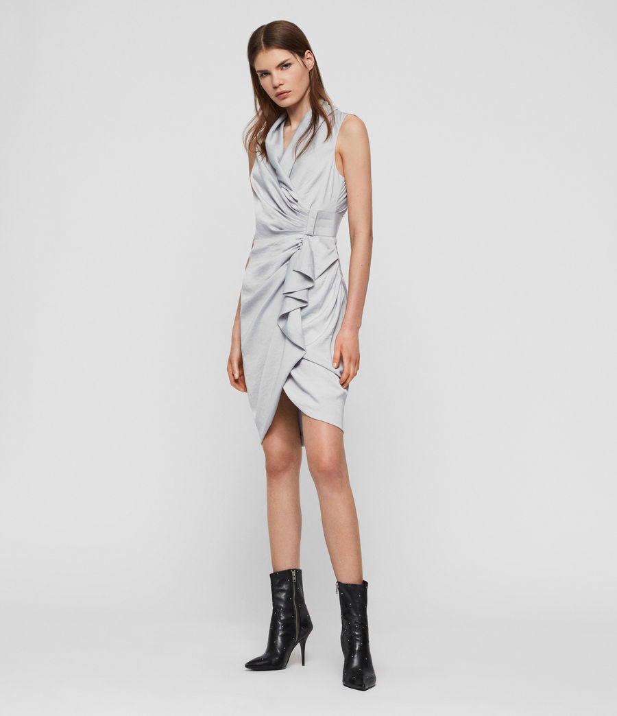 Womens Cancity Dress (pale_grey) - Image 2