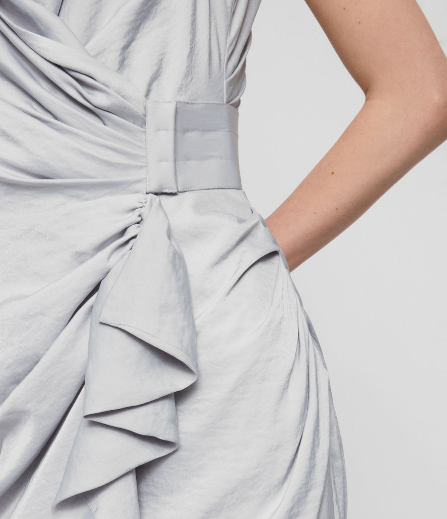 Women's Cancity Dress (pale_grey) - Image 3
