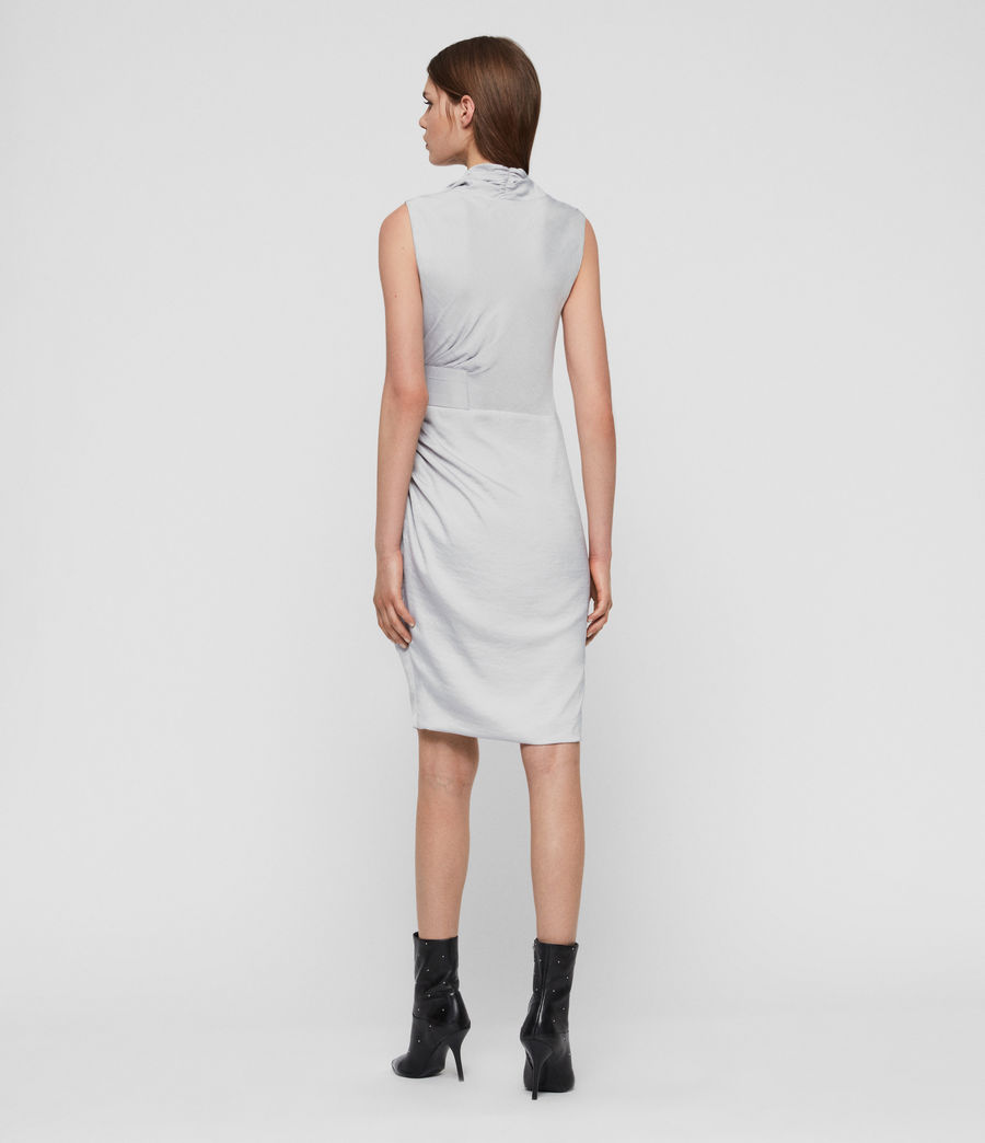 Womens Cancity Dress (pale_grey) - Image 5