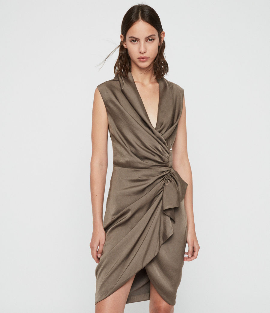 Damen Cancity Dress (ash_grey) - Image 1