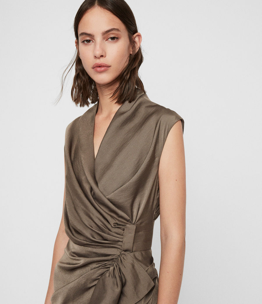 Damen Cancity Dress (ash_grey) - Image 2