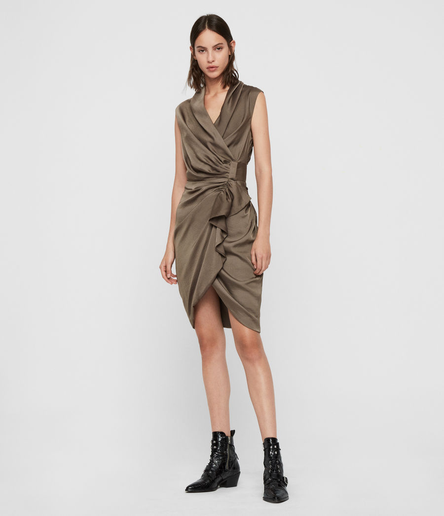 Womens Cancity Dress (ash_grey) - Image 3