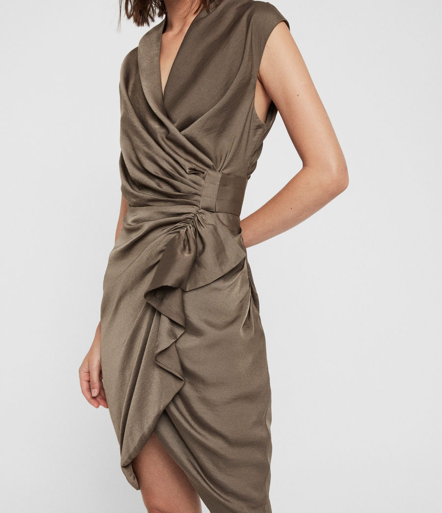 Damen Cancity Dress (ash_grey) - Image 4