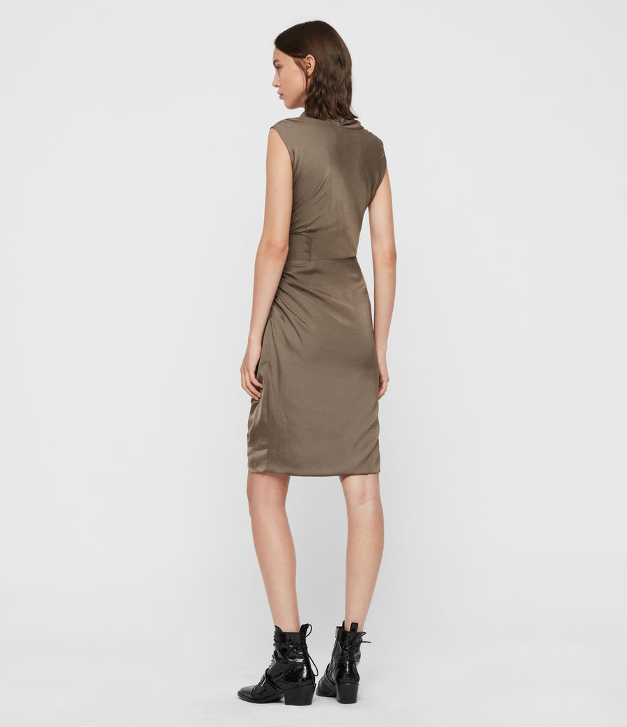 Womens Cancity Dress (ash_grey) - Image 5