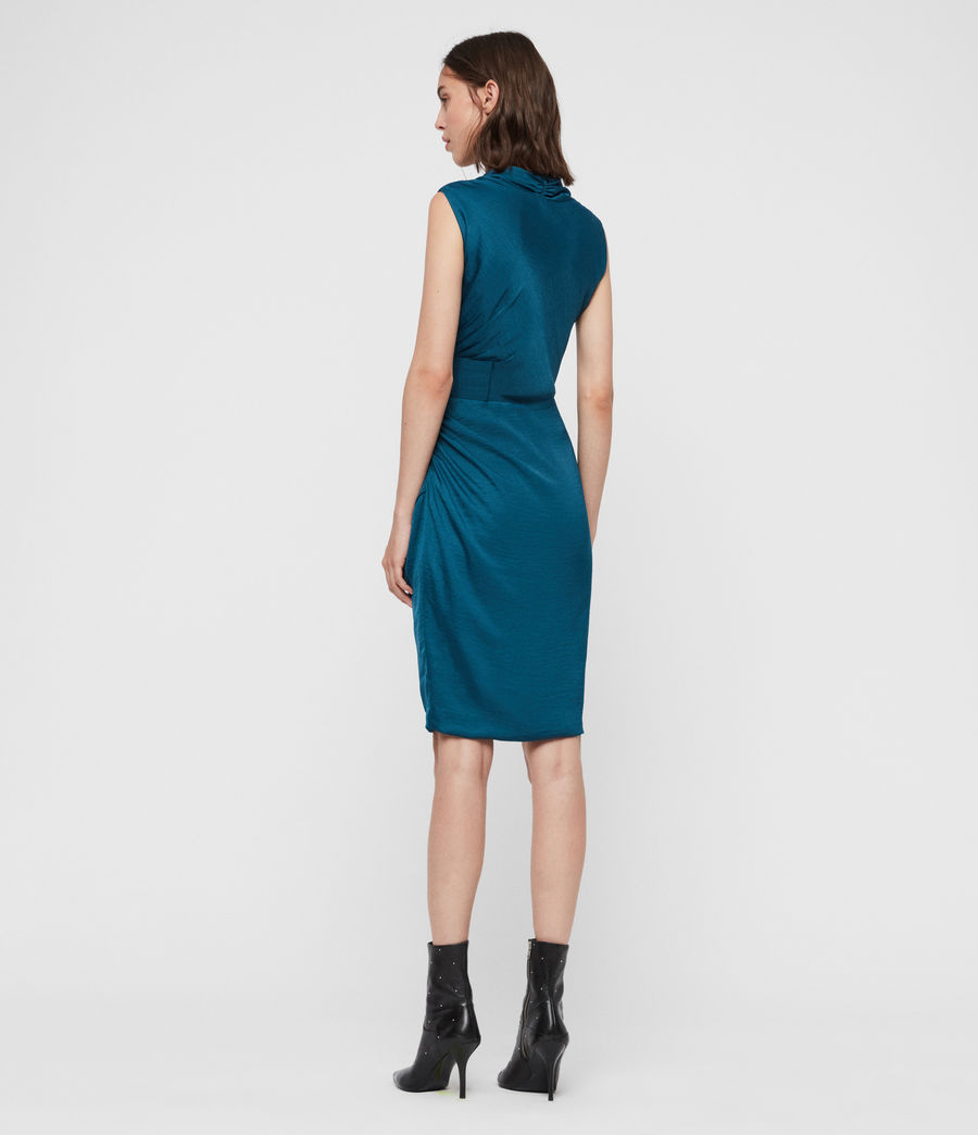 Women's Cancity Dress (petrol_blue) - Image 5