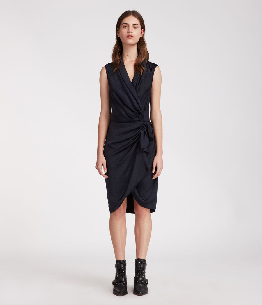 Women's Cancity Dress (ink_blue) - Image 1