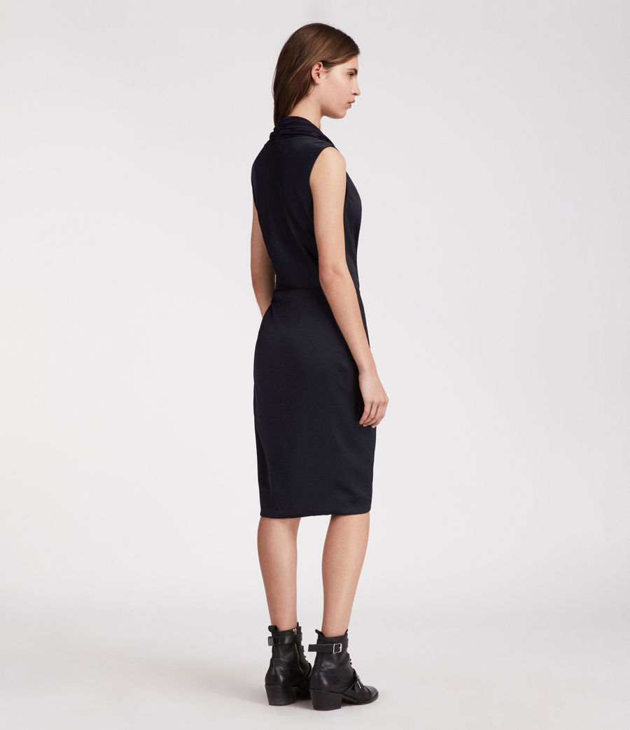 Women's Cancity Dress (ink_blue) - Image 5