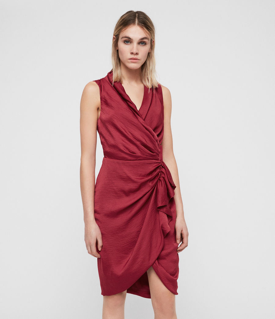 Femmes Robe Cancity (rose_red) - Image 1