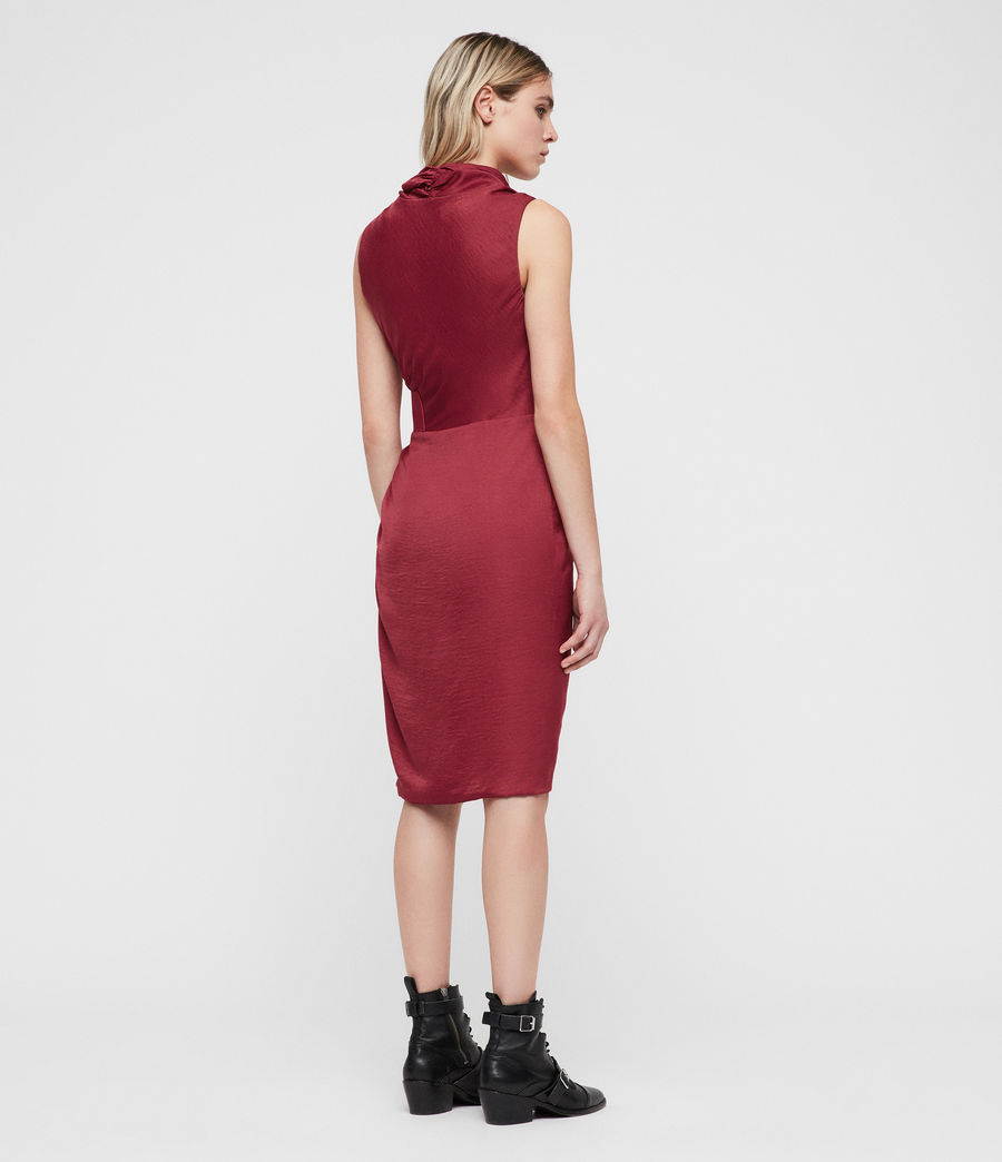 Femmes Robe Cancity (rose_red) - Image 5