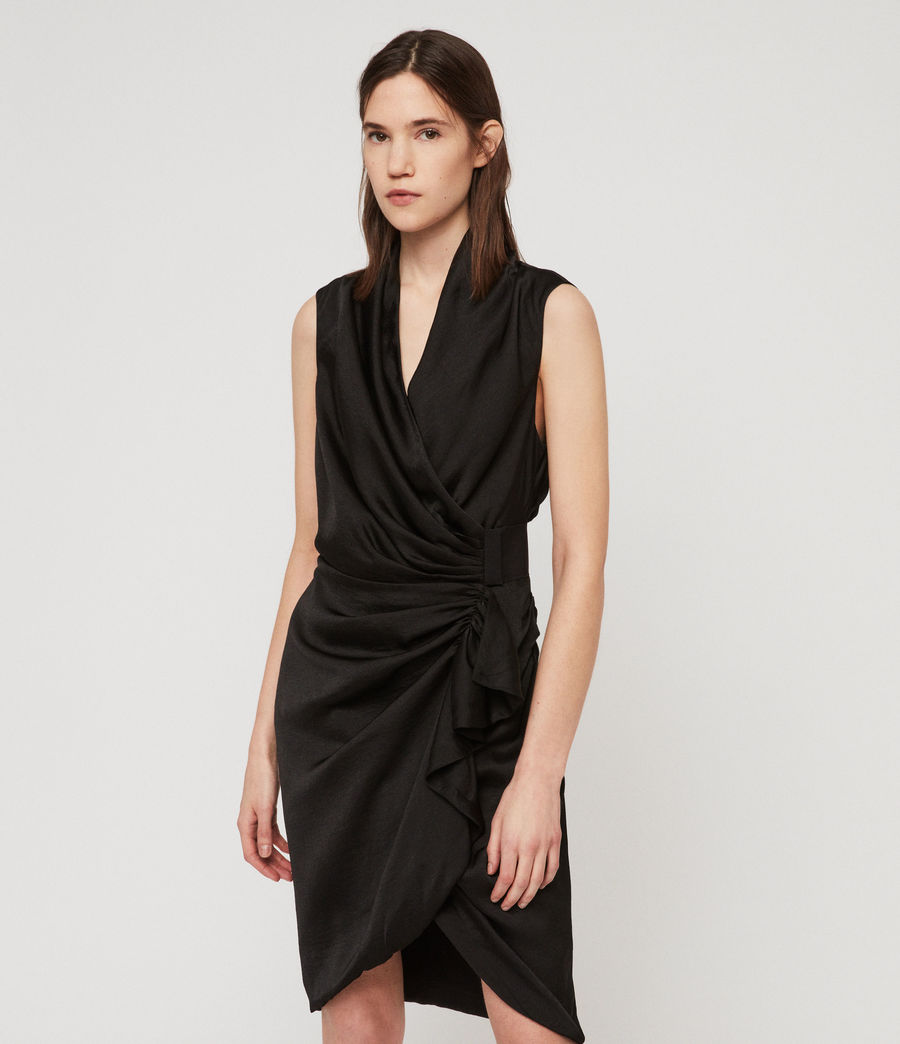 Women's Cancity Dress (black) - Image 1