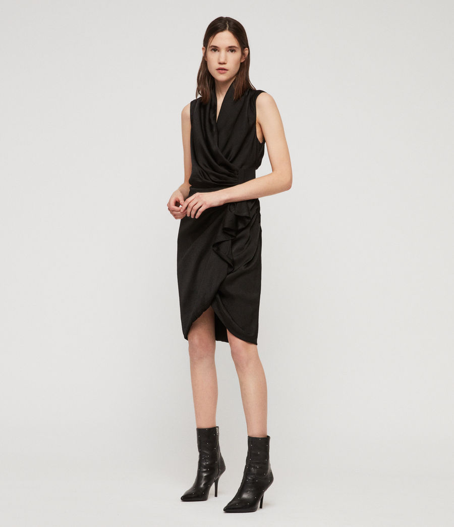 Women's Cancity Dress (black) - Image 2
