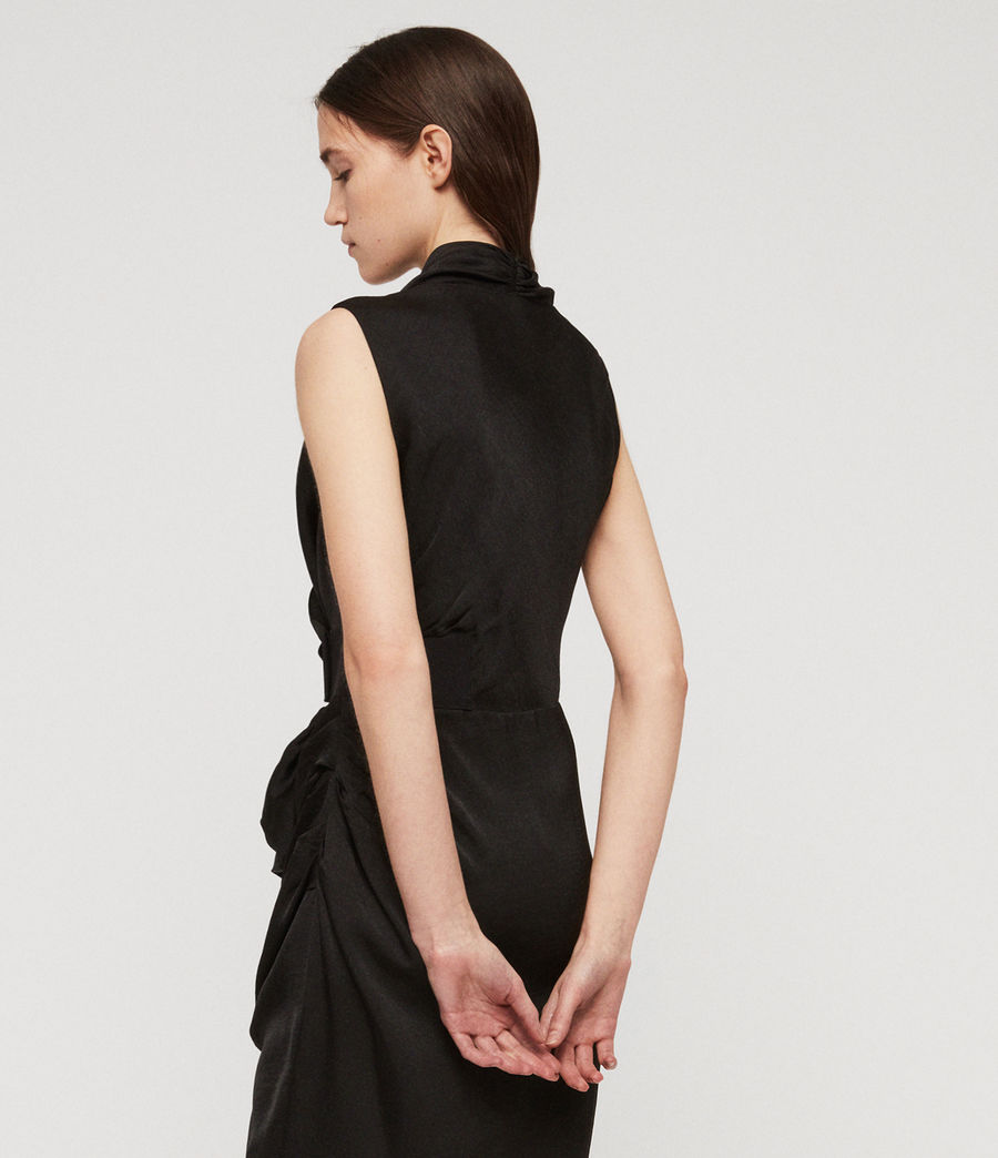 Women's Cancity Dress (black) - Image 4