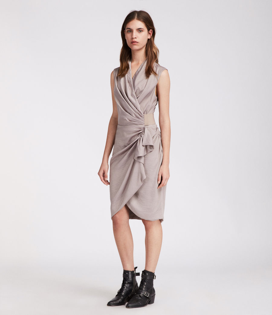 Women's Cancity Dress (pearl_grey) - Image 1