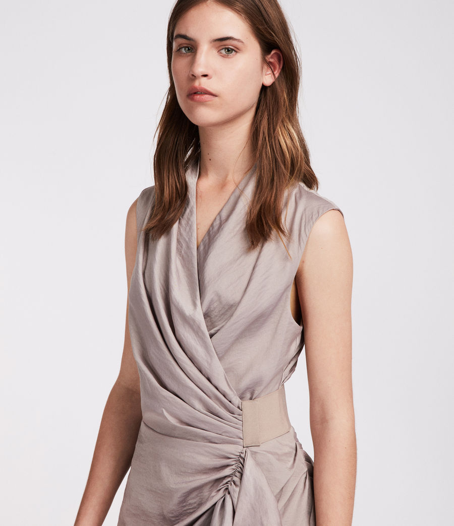 Women's Cancity Dress (pearl_grey) - Image 2