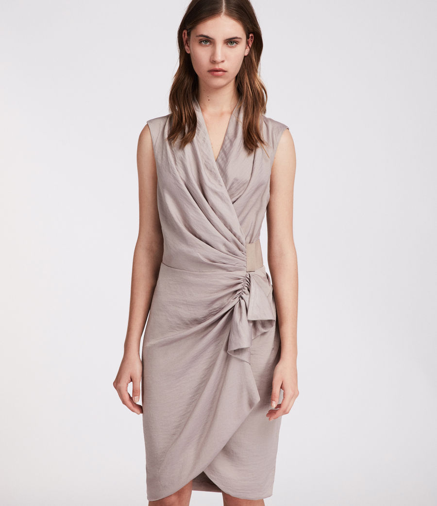 Women's Cancity Dress (pearl_grey) - Image 3