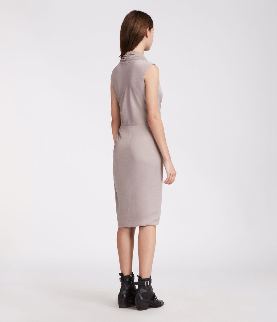 Women's Cancity Dress (pearl_grey) - Image 4