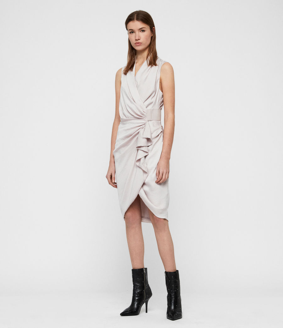 Women's Cancity Dress (washed_pink) - Image 1