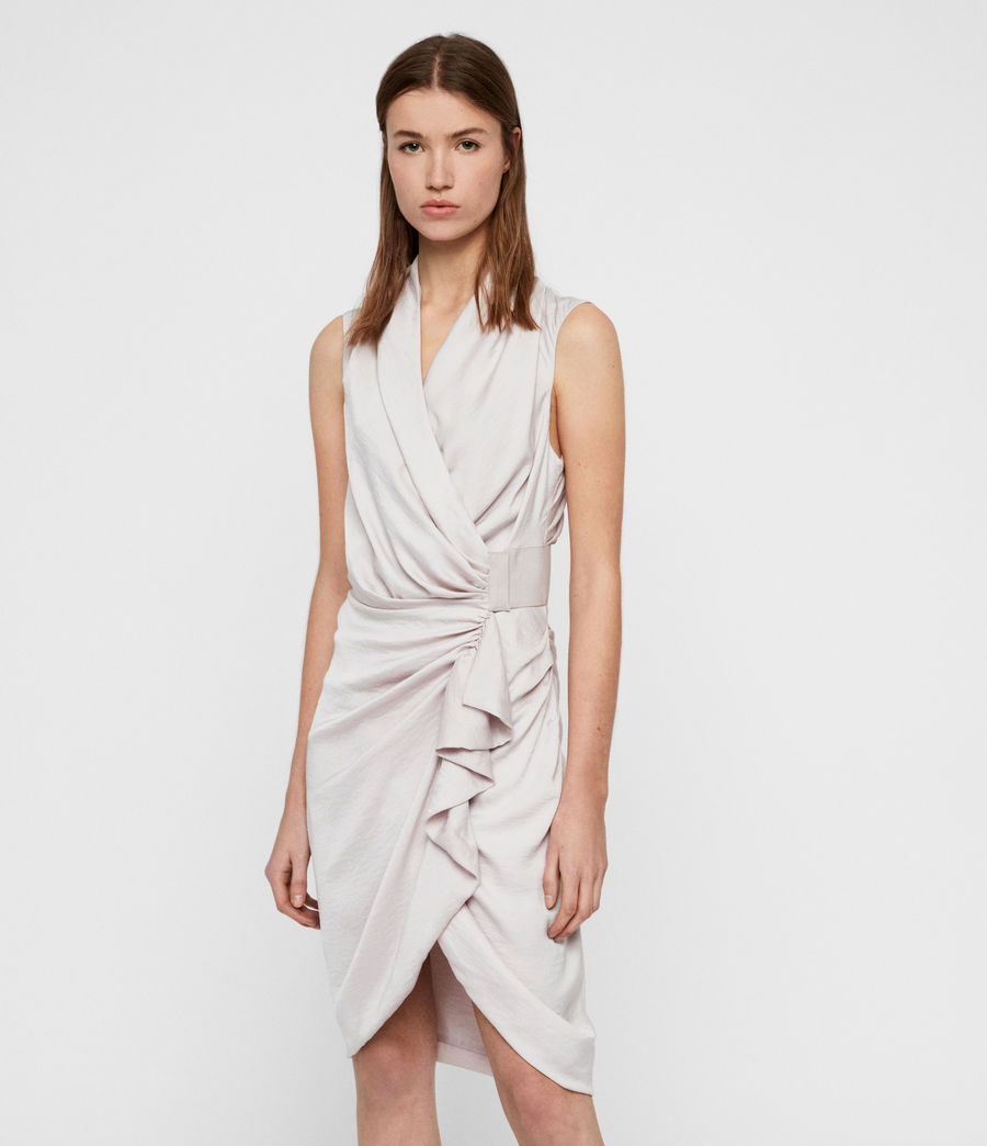 Women's Cancity Dress (washed_pink) - Image 3