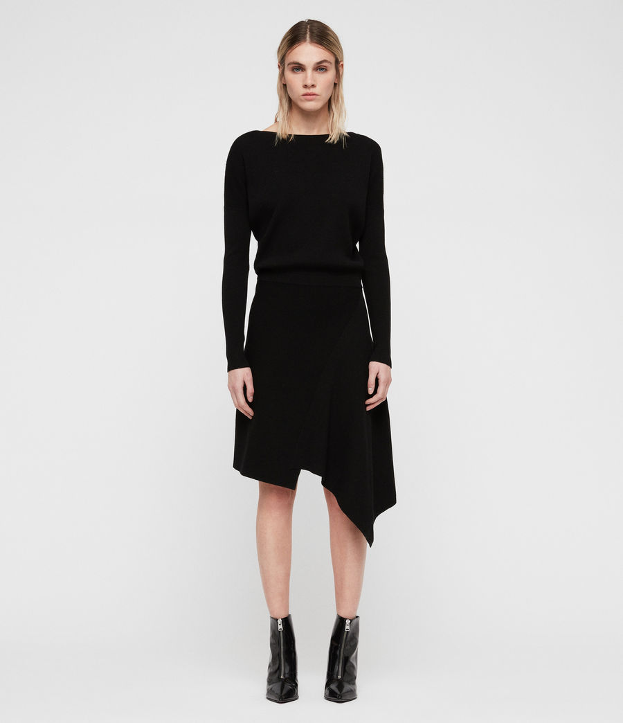 Women's Suke Dress (black) - Image 1
