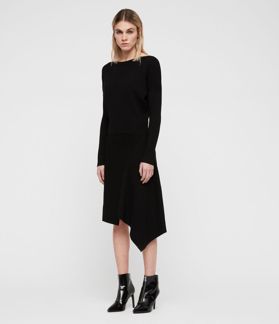 Women's Suke Dress (black) - Image 3
