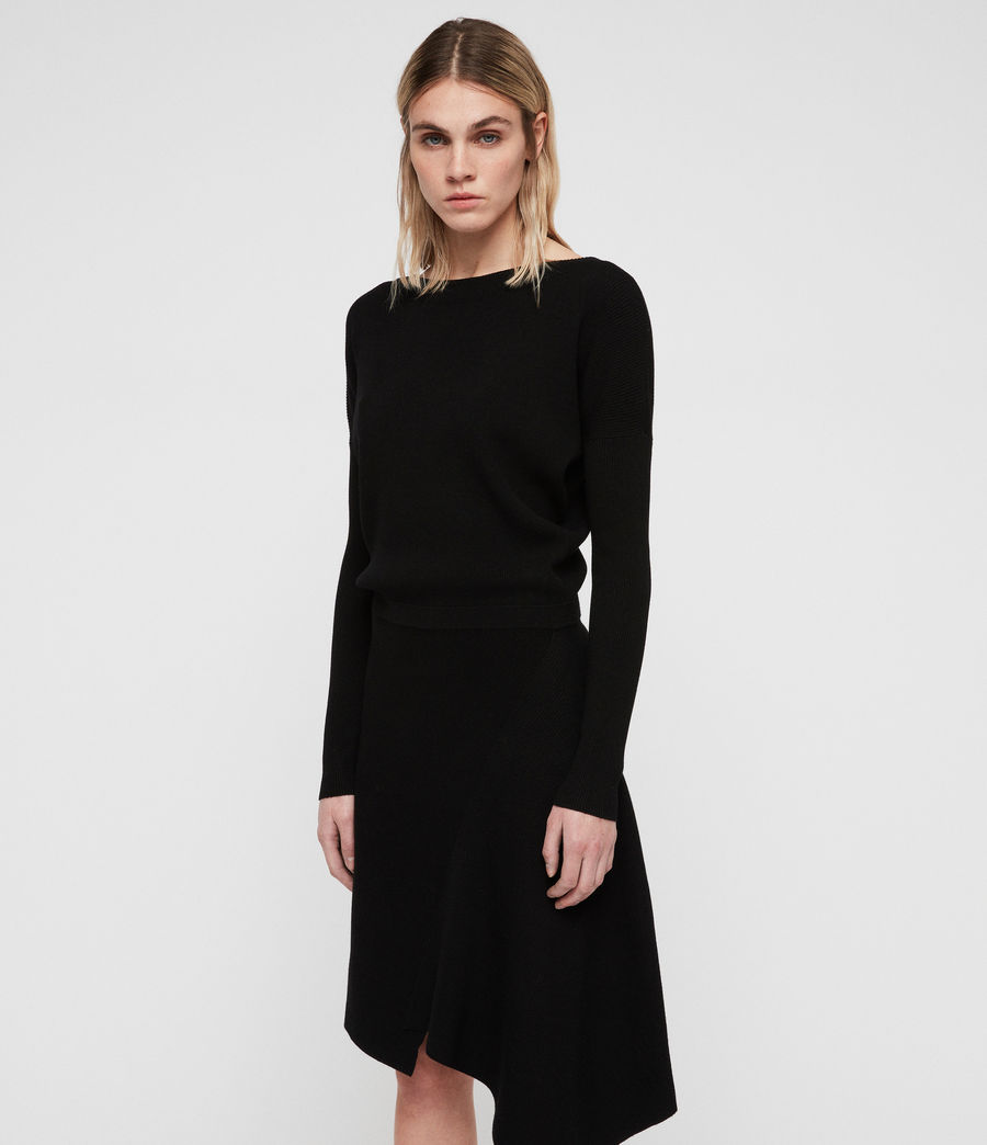 Women's Suke Dress (black) - Image 4