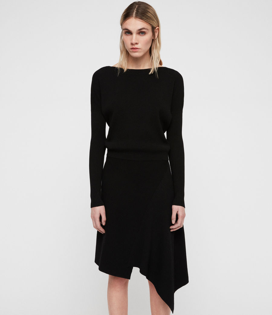 Women's Suke Dress (black) - Image 5