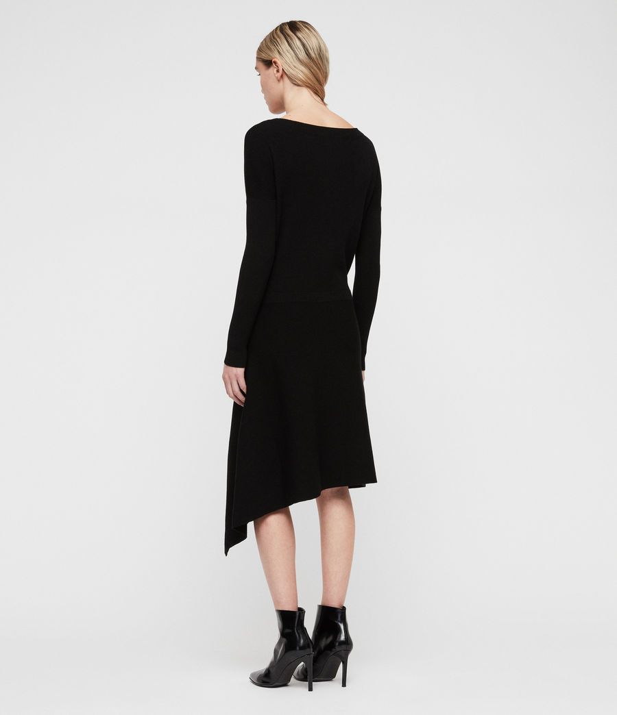 Women's Suke Dress (black) - Image 6