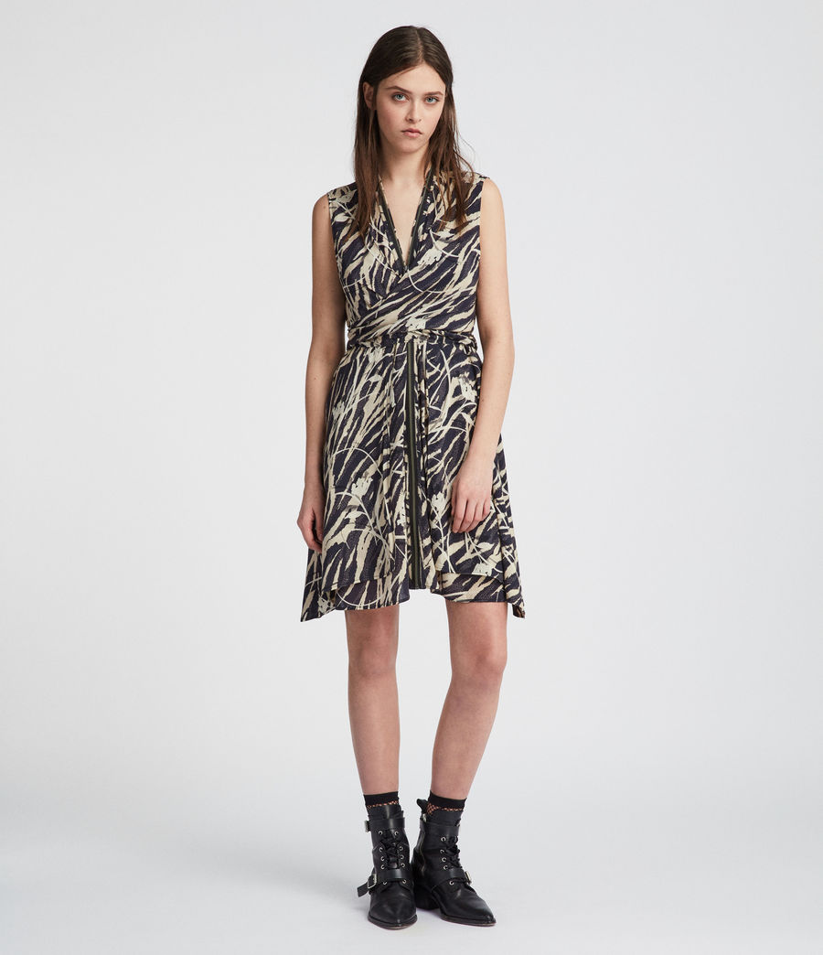 Women's Jayda Kazuno Dress (coal_black) - Image 2