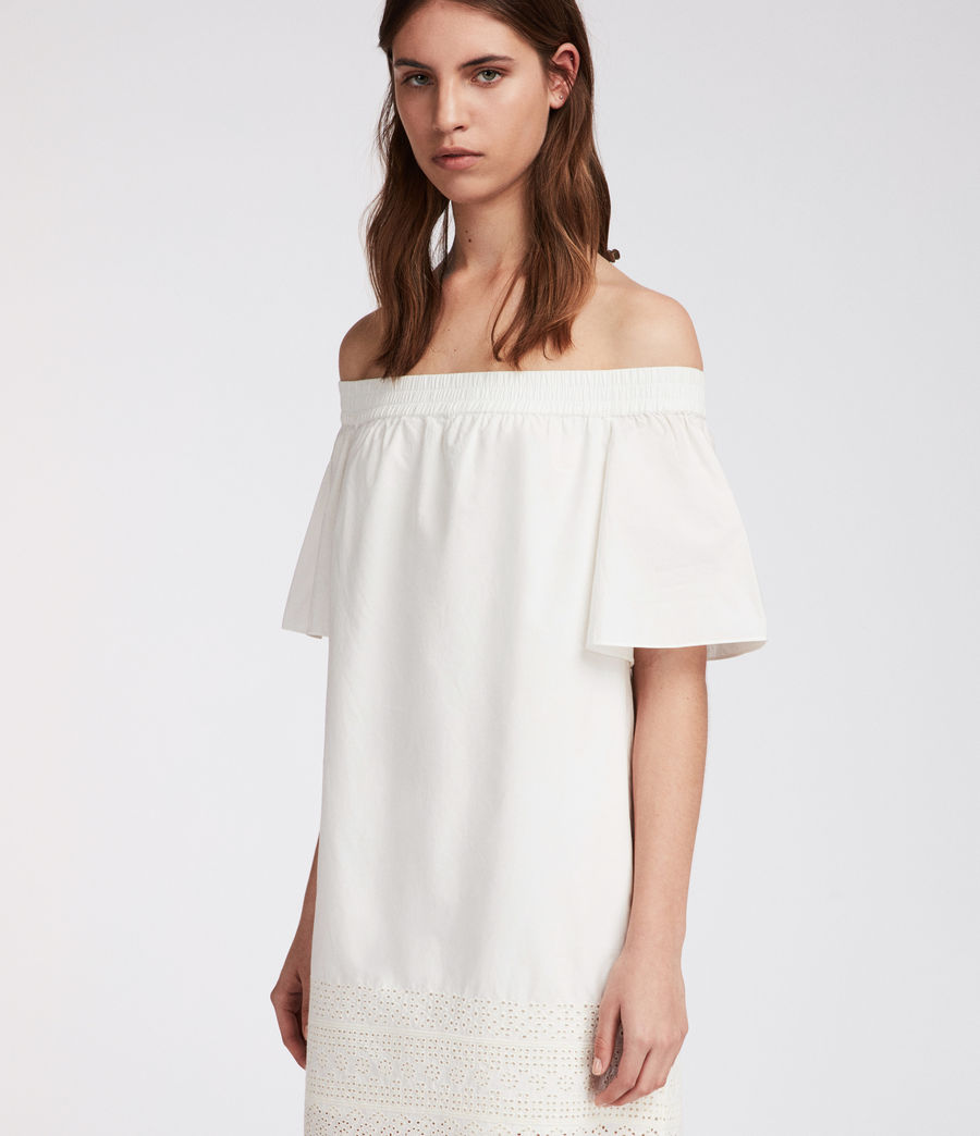 Women's Livia Trixi Dress (chalk_white) - Image 2