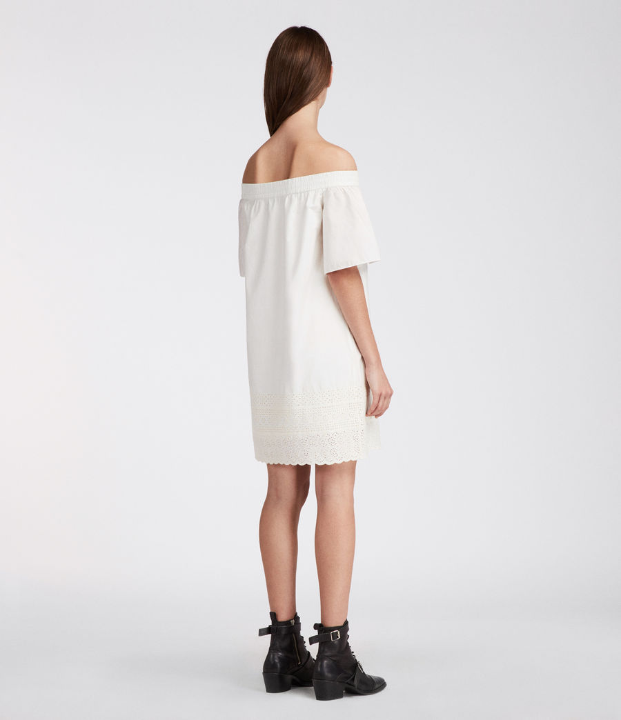 Women's Livia Trixi Dress (chalk_white) - Image 3
