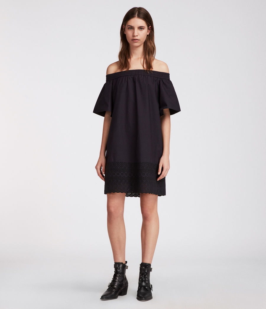 Womens Livia Trixi Dress (black) - Image 1