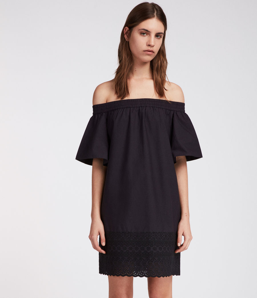 Womens Livia Trixi Dress (black) - Image 3