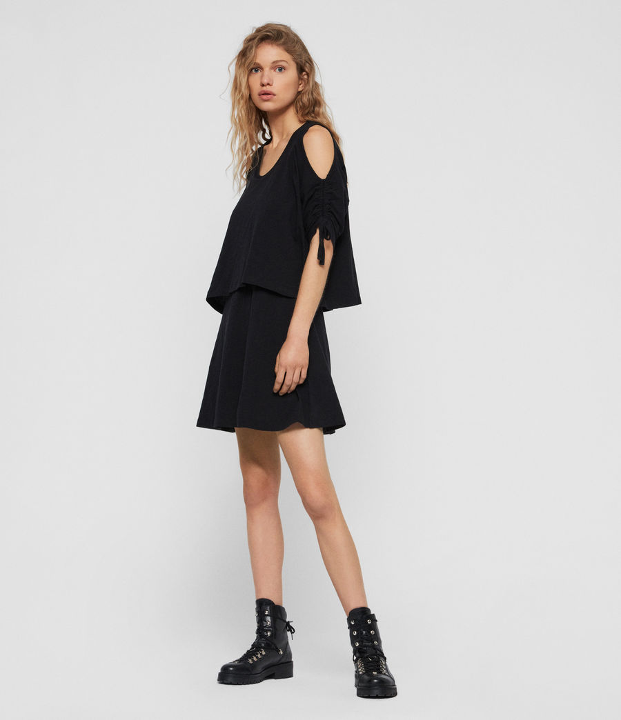 Women's Harper T-Shirt Dress (black) - Image 1