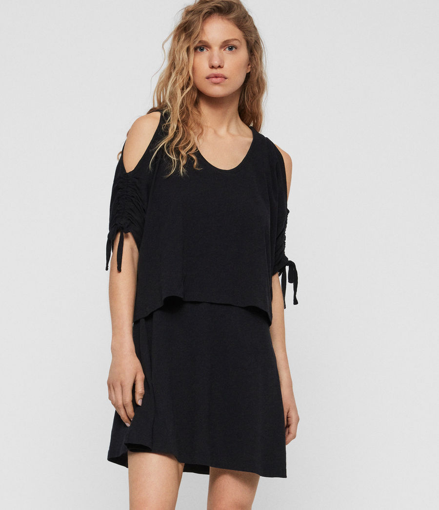 Women's Harper T-Shirt Dress (black) - Image 2