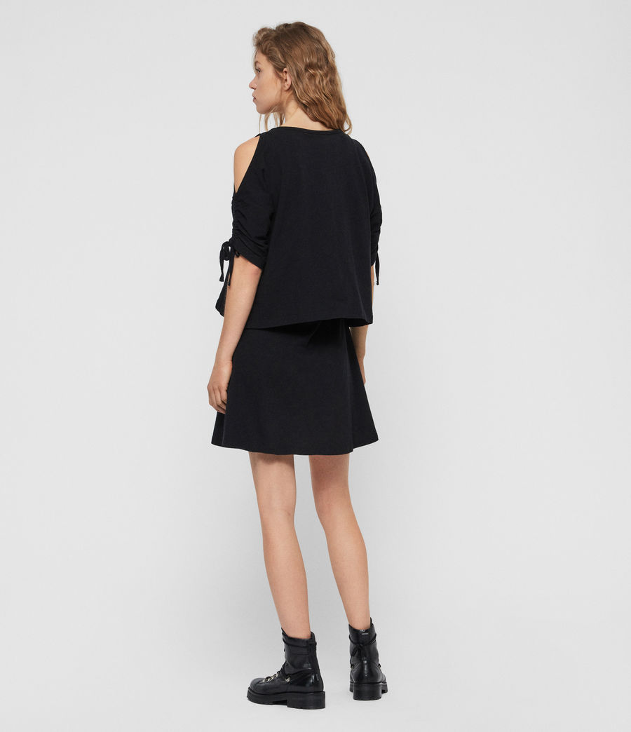 Women's Harper T-Shirt Dress (black) - Image 5