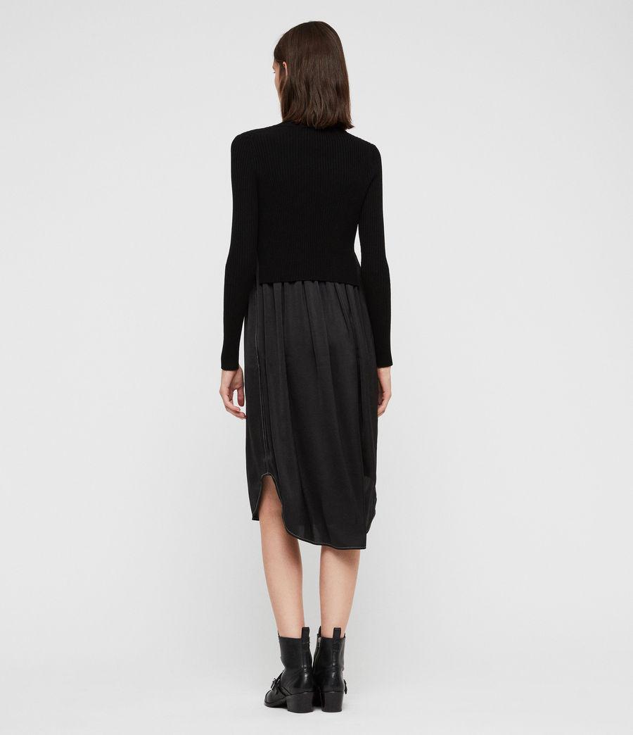 Women's Kowlo Shirt Dress (black) - Image 5