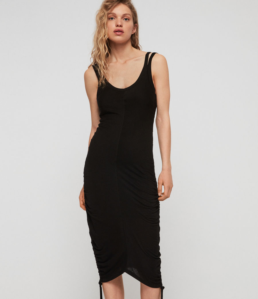Womens Ola Dress (black) - Image 1