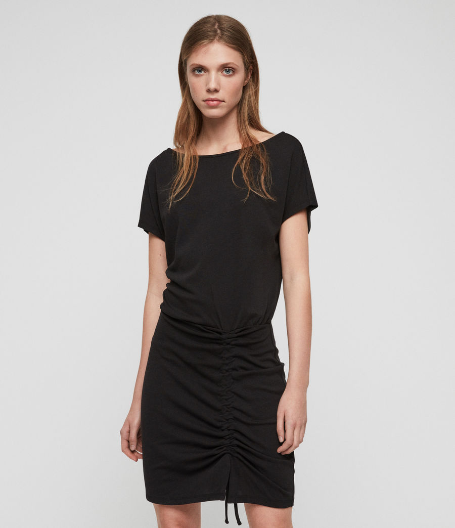 Womens Tavi Dress (black) - Image 1