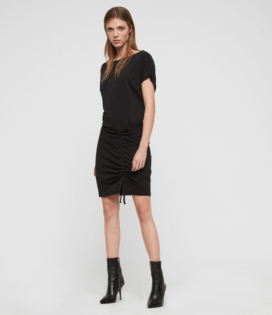 Womens Tavi Dress (black) - Image 2