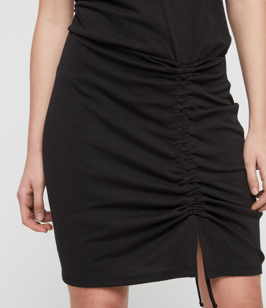 Womens Tavi Dress (black) - Image 4