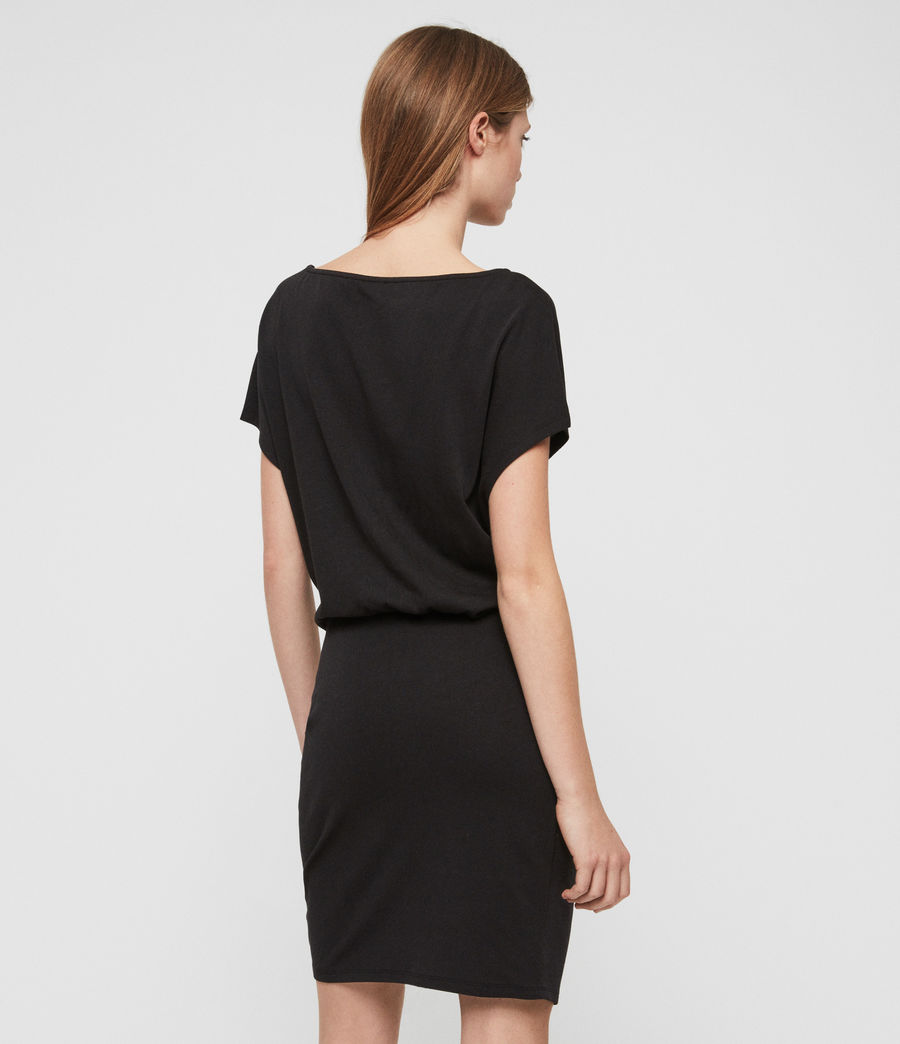 Womens Tavi Dress (black) - Image 5