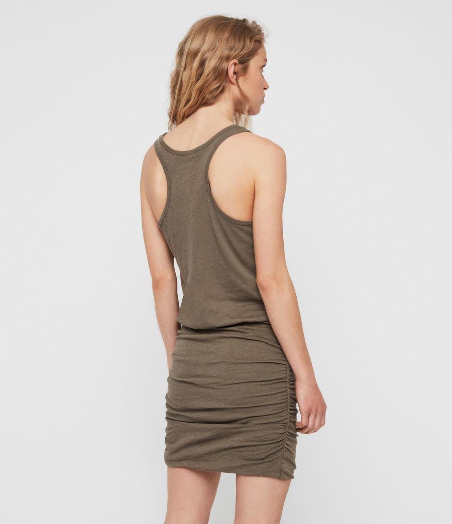 Mujer Vestido Toby (khaki_green) - Image 6