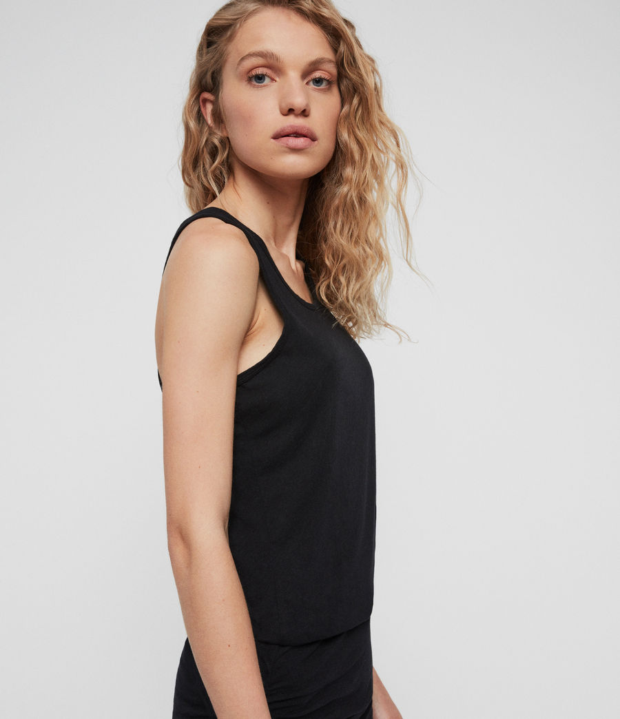 Women's Toby Dress (black) - Image 3