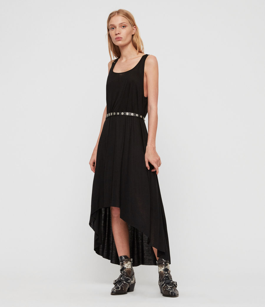 Womens Frederike Dress (black) - Image 1