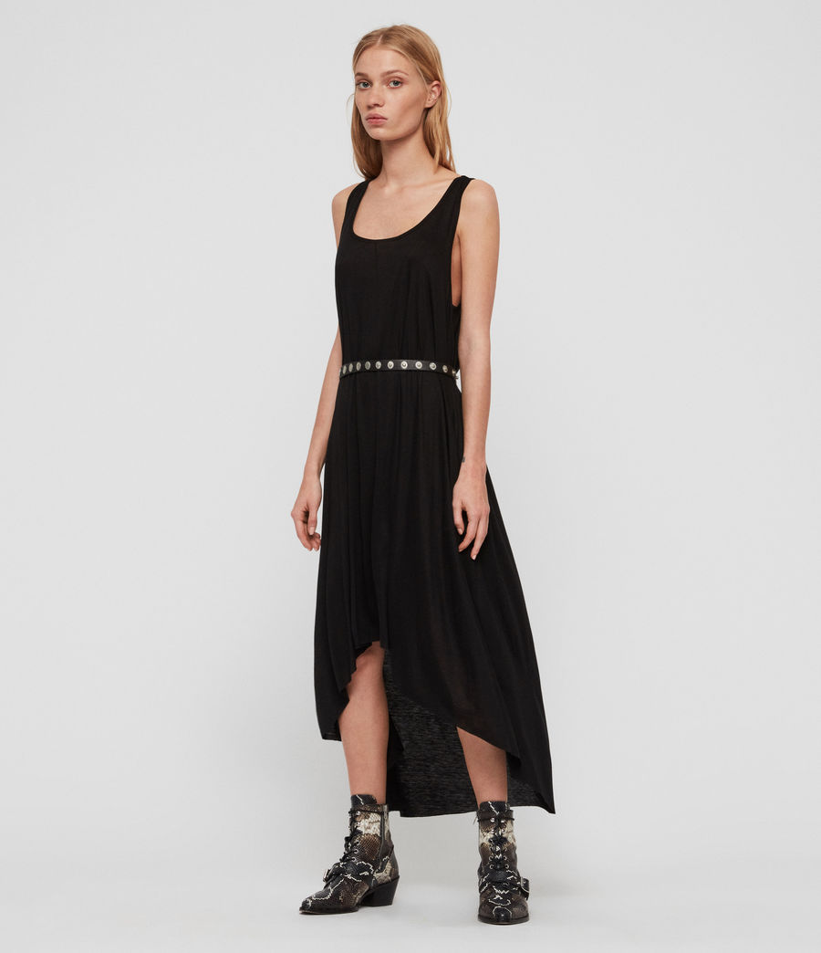 Women's Frederike Dress (black) - Image 2