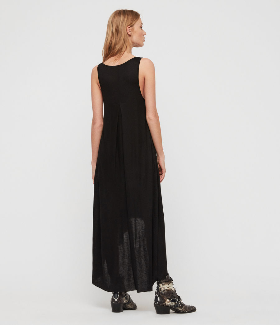 Women's Frederike Dress (black) - Image 5