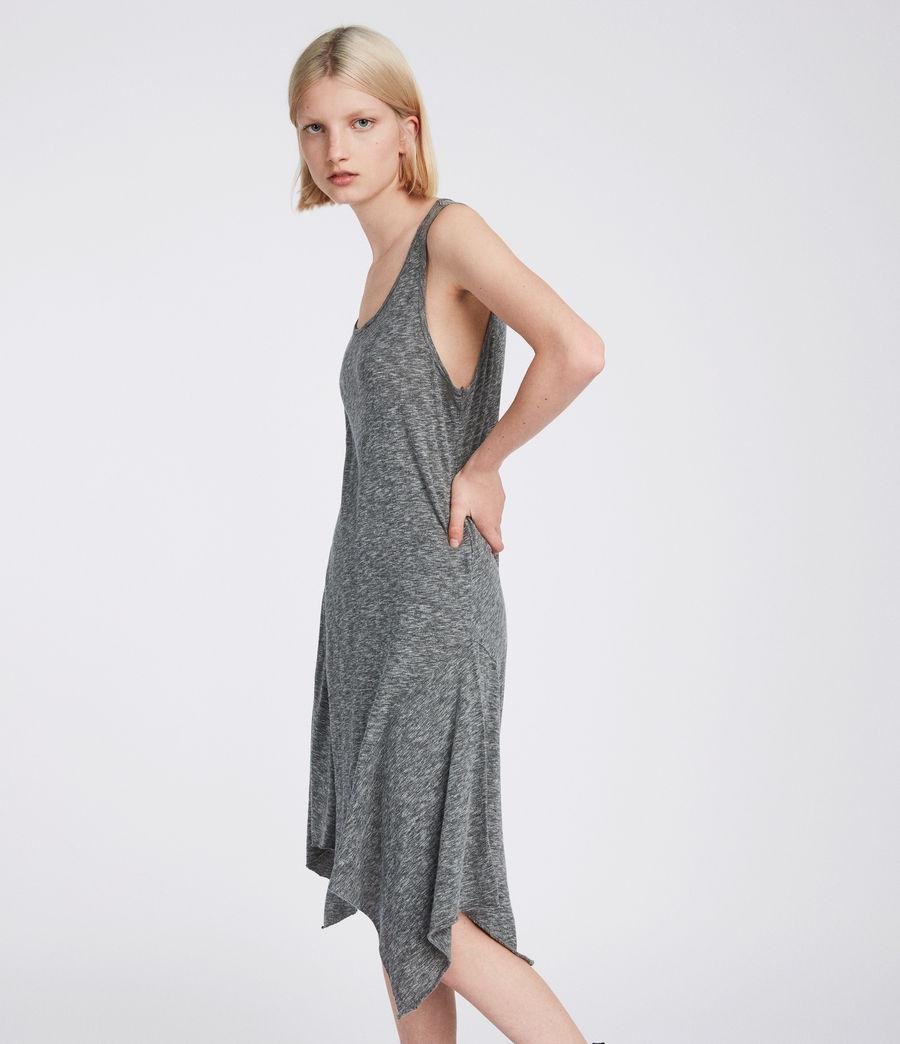 Womens Ella Flame Dress (grey_marl) - Image 1