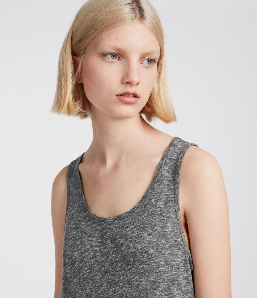 Womens Ella Flame Dress (grey_marl) - Image 3