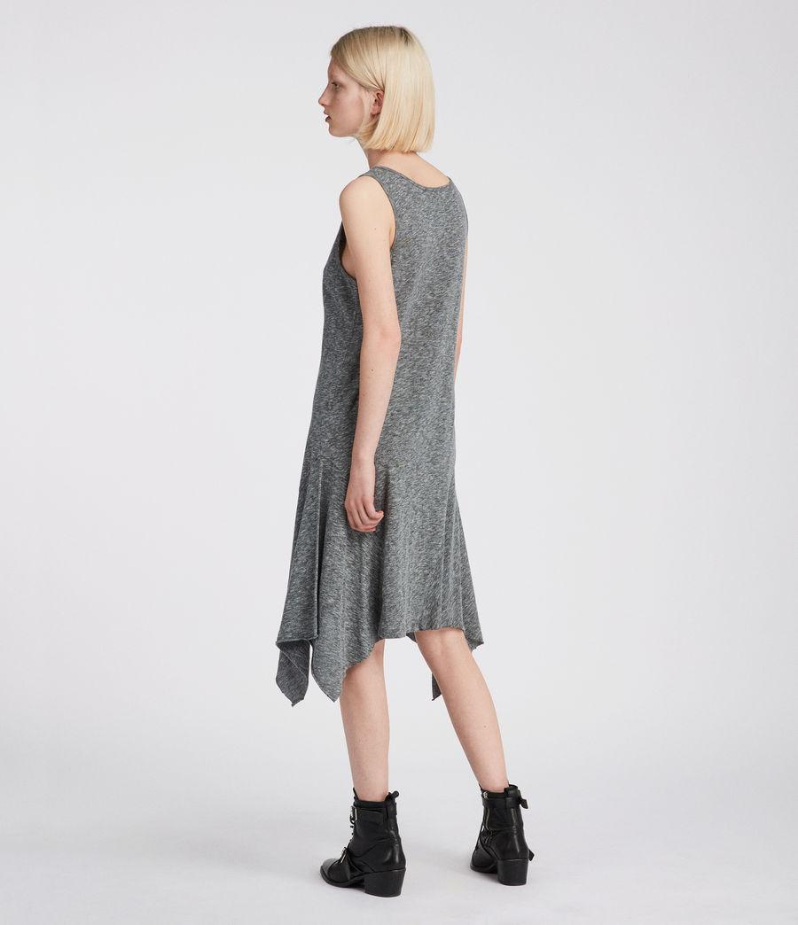 Womens Ella Flame Dress (grey_marl) - Image 4