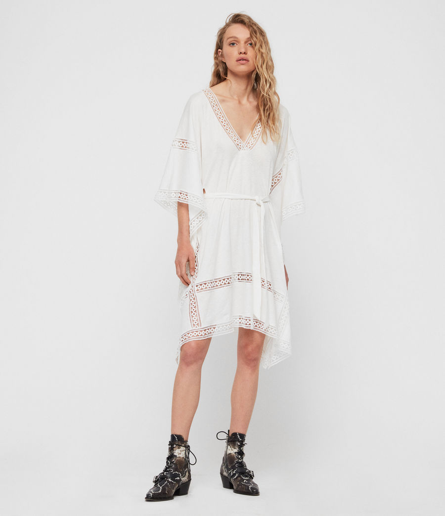 Women's Trine Cover-up Dress (chalk_white) - Image 1